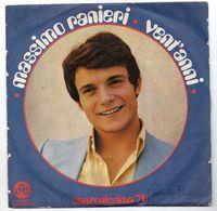 """Massimo Ranieri (1970)  """"Vent'anni"""" - Vinyles"""