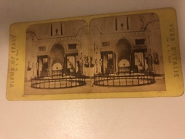Stereo Photo Vers 1880 Italia -  Views Of Italy  Vatican - Photographie