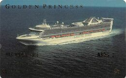 Princess Cruises - Golden Princess Cruise Ship Room Key / ID Card With GEMPLUS 7-00 - Cartes D'hotel