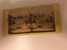 Stereo Photo Vers 1880 Italia -  Views Of Italy  Rome - Photographie