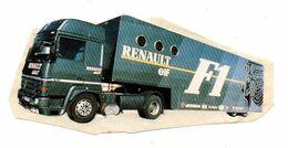 Autocollant Renault Elf F1 - Format6x13cm - Stickers
