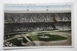 CLEVELAND OHIO American League BALL PARK - Cleveland