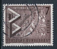Allemagne Berlin - Germany - Deutschland 1957 Y&T N°141 - Michel N°160 (o) - 7p Maquette Du Quartier Hansa - Oblitérés