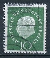 Allemagne Berlin - Germany - Deutschland 1959 Y&T N°163 - Michel N°183 (o) - 10p T Heuss - Oblitérés