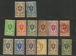 249/62  Série De Londres (boitsorblan) - Cameroun (1915-1959)