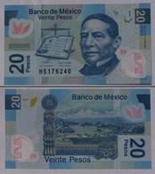MEXIKO - MEXICO - 20 Peso 2006 Polymer Pick 122b UNC (1)   (21246 - Bankbiljetten