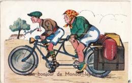 MONDORF-LES-BAINS - 1910-1920 - Un Bonjour De Mondorf-les-Bains - Leperello - Mondorf-les-Bains