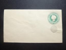 India OP Chamba State Victorian EMBLEM Half Anna MINT Prepaid Envelope MINT - Ohne Zuordnung