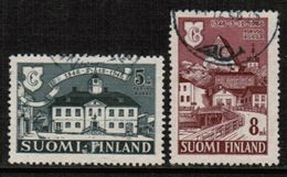 FINLAND  Scott # 254-5 VF USED (Stamp Scan # 721) - Finland
