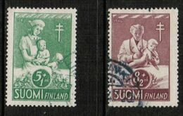 FINLAND  Scott # B 78-9 VF USED (Stamp Scan # 721) - Finland