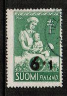 FINLAND  Scott # B 80 VF USED (Stamp Scan # 721) - Finland