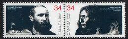 Canada - #1109a - Pair - 1952-.... Reign Of Elizabeth II