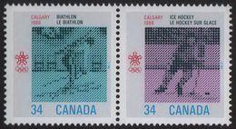 Canada - #1111-12 - Pair - 1952-.... Reign Of Elizabeth II