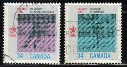 Canada - #1111-12(2) - Used - 1952-.... Reign Of Elizabeth II