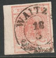 Austria 1850 Sc 3 Mi 3 Used Waitz CDS - Oblitérés