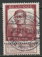 Belgium 1912 Sc 102 Mi 99 Feldpost Cancel Gummed - 1912 Pellens