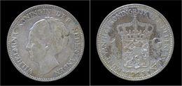 Netherlands Wilhelmina I 1 Gulden 1923 - [ 3] 1815-… : Royaume Des Pays-Bas