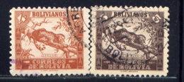 BOLIVIA, NO.'S 267-268 - Bolivia