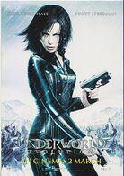 Postcard Film Movie Underworld Evolution Kate Beckinsale - Posters On Cards