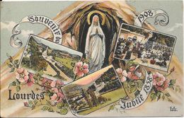1908 - LOURDES - Souvenir Du Jubilé 1858-1908 - Lourdes