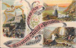 1908 - LOURDES - Souvenir Du Jubilé De Bernadette 1858-1908 - Lourdes