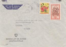 Belgisch-Kongo: Consulat De Suisse Leopoldville - Altri - Europa