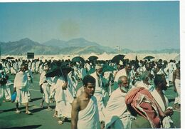 CPM GF - 17196-Arabie Saoudite -Pilgrims In Arafat -Envoi Gratuit - Saudi-Arabien