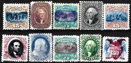 779 - USA - 1869 -  FORGERIES, FALSES, FALSCHEN, FAKES, FALSOS - Stamps