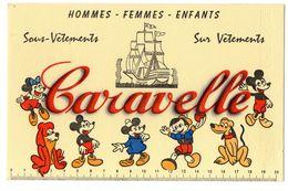 Buvard Caravelle  Mickey - Buvards, Protège-cahiers Illustrés