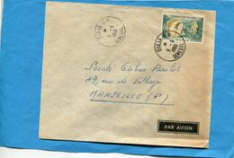 Marcophilie- Lettre - Fédération Du Mali>France Cad Dakar-1960-stamp Fish-poissson - Mali (1959-...)