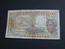 1000 Mille Francs 1988 -SENEGAL - Banque Centrale Des états De L'Afrique De L'ouest **** EN ACHAT IMMEDIAT **** - Senegal