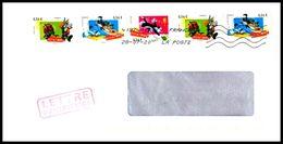 Frankreich / France: 'Comics – Chuck Jones – Adhésif Humide, 2009', Mi. 4598-4600 ZD; Yv. 4338-4340; Sc. 3605-3607 MiF - France