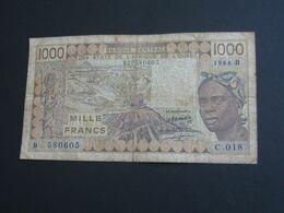 1000 Francs 1994 - BENIN - Banque Centrale Des états De L'Afrique De L'ouest **** EN ACHAT IMMEDIAT **** - Benin