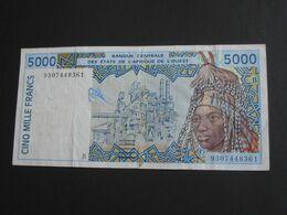 5000 Cinq Mille Francs 1993 - BENIN - Banque Centrale Des états De L'Afrique De L'ouest  **** EN ACHAT IMMEDIAT **** - Benin