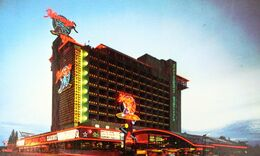 USA Nevada South Lake Tahoe ETATS UNIS Harvey's Resort HOTEL Casino - Hotels & Restaurants