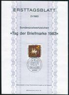 BRD - 1983 ETB 21/1983 - Mi 1192 - 80Pf                 Tag Der Briefmarke - [7] República Federal