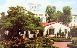 USA  California Los Angeles Chapman Park HOTEL Bungalows Wilshire Boulevard ETATS UNIS Californie - Hotels & Restaurants