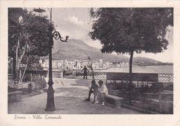 FORMIA - LATINA - GIARDINI VILLA COMUNALE - PANORAMA LUNGOMARE  - 1939 - Latina