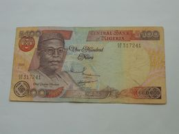 100 One Hundread NAIRA 1999 - Central Bank Of NIGERIA  **** EN ACHAT IMMEDIAT **** - Nigeria