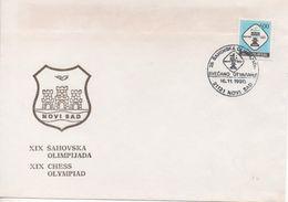 Yugoslavia, Chess, 29th Chess Olympics, N. Sad 1990, Opening Ceremony - Chess