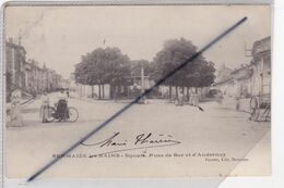 Sermaize Les Bains (51) Square. Rues De Bar Et D'Andernay (carte Précurseur De 1903) - Sermaize-les-Bains