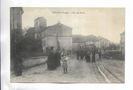88 - SENAIDE ( Vosges ) - Place Des Ecoles. Carte Animée - Frankreich