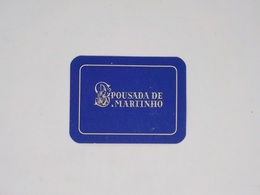 Cx13 CC9) Portugal POUSADA DE S. MARTINHO  Alfeizeirão RARA Etiquette Hotel Label 6,5x8,5cm - Etiketten Van Hotels