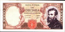 19978) BANCONOTA 10000 LIRE MICHELANGELO 3-7-1962 -SERIE SPECIALE W-vedi Foto - [ 2] 1946-… : Repubblica