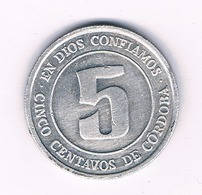 5 CENTAVOS 1974 NICARAGUA /6302/ - Nicaragua