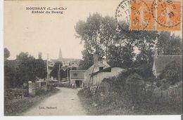 HOUSSAY. CP Voyagée En 1923 Entrée Du Bourg - Other Municipalities