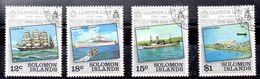 Islas Salomón Serie Nº Yvert  510/13 O BARCOS (SHIPS) - Salomon (Iles 1978-...)