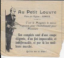 34.- VILLE DE GANGES Fête Nationale & Votive 1930  AU PETIT LOUVRE - Biglietti Della Lotteria
