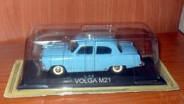 Voiture VOLGA GAZ M21 BLEU  - DeAgostini - Voitures, Camions, Bus