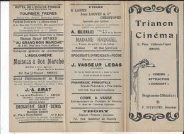 80.- AMIENS TRIANON CINEMA - Programmi